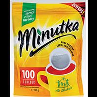 """Чай черный """"MINUTKA"""" пакетированный (100шт)"""