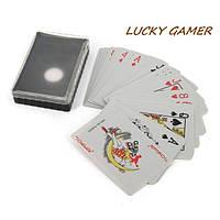 Колода покерных карт для покера в футляре пластиковом СS230