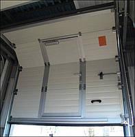 Встроенная калитка для секционных ворот., фото 1
