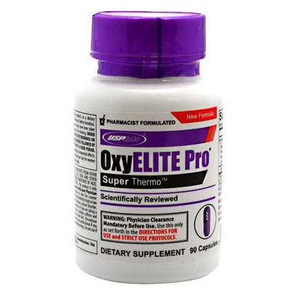 Жироспалювач OxyElite Pro USPlabs 90 caps (з DMAA), фото 2