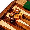Резные нарды деревянные из палисандра GS144, фото 3