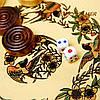 Нарды китайские старинные с драконами в деревянном футляре S8011, фото 3