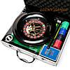 Набор для игры в покер и рулетка в металлическом кейсе RSS1060A, фото 2