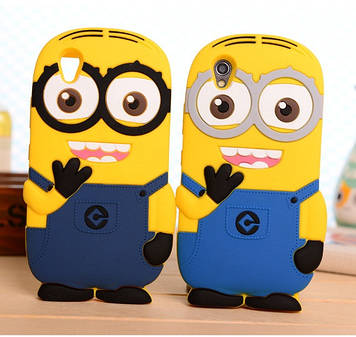 "Lenovo P70 3D чехол накладка панель бампер TPU объемный для телефона "" МИНЬОН MINION """
