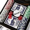 Покерный набор на 100 фишек с номиналом в кейсе DMS100NA, фото 2