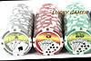 Покерный набор на 100 фишек с номиналом в кейсе DMS100NA, фото 5