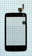 Тачскрин сенсорное стекло для Lenovo A288/A288T black