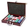 Покерный набор на 200 фишек в кейсе с номиналом WS-2