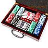 Покерный набор на 200 фишек в кейсе с номиналом WS-2, фото 2