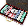 Набор для покера на 300 фишек с номиналом WS-3-1, фото 2