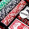 Набор для покера на 300 фишек с номиналом WS-3-1, фото 3