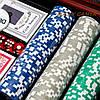 Набор для покера на 300 фишек с номиналом WS-3-1, фото 4