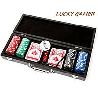 Набор для покера на 100 фишек кейсе подарочном WSD11100