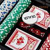 Набор для игры в покер на 200 фишек в кейсе из дерева WSS11200, фото 2