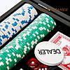 Набор для игры в покер на 200 фишек в кейсе из дерева WSS11200, фото 4