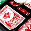 Набор для игры в покер на 200 фишек в кейсе из дерева WSS11200, фото 5