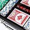 Покерный набор на 300 фишек в чемодане WSS11300, фото 4