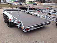 Прицеп для перевозки багги и квадроциклов.4.0м х 1,95м. Без тормозов., фото 1