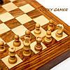 Набор шахмат настольная интеллектуальная игра с классическими фигурами GS110, фото 3