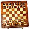 Настольные шахматы из дерева GS112 резные с классическими фигурками , фото 4