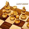 Классические шахматы подарочные деревянные резные ручной работы GS113, фото 2
