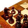 Классические шахматы подарочные деревянные резные ручной работы GS113, фото 3