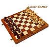Классические шахматы подарочные деревянные резные ручной работы GS113, фото 4