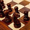 Деревянные шахматы сувенирные большие с резными фигурами G139, фото 3
