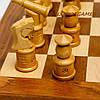 Необычные шахматы оригинальные с фигурками резными GS140D из палисандра , фото 2