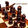 Необычные шахматы оригинальные с фигурками резными GS140D из палисандра , фото 4