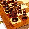 Подарочные шахматы эксклюзивные из дерева с резными фигурами GS533, фото 3