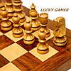Подарочные шахматы эксклюзивные из дерева с резными фигурами GS533, фото 4