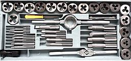 Набор плашек и метчиков Sigma 1601041 (40 предметов), фото 2