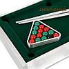 Настольный бильярд мини игра 806S779 с двумя металлическими киями , фото 3