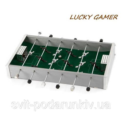 Настольный футбол мини игра MPS3050 металлическая для офиса и дома