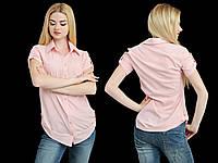 Рубашка женская удлиненная , фото 1