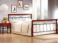 Кровать VERONICA 180x200 черешня античная Halmar