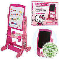 Детский двухсторонний мольберт HK 0112 Hello Kitty, фото 1