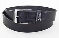 Мужской кожаный ремень Levis 501 универсальный, фото 1