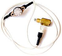 Термопрерыватель с проводами и датчиком тяги 95 градусов в сборе (котловой), код сайта 6000