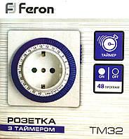 Таймер-розетка Feron TM32
