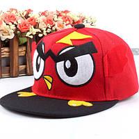 Кепка Snapback Angry Birds красная