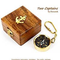 """Компас брелок в подарочной коробке """"Капитан Грант"""" NIS023A"""