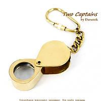 """Брелок для ключей увеличительное стекло """"Паганель"""" NIS033"""