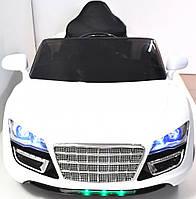 Дитячий електромобіль Audi R8 KD100 Білий, фото 1