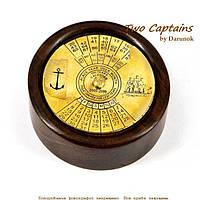 Необычный настольный календарь на 100 лет в морском стиле  Royal Harbour NI447SD