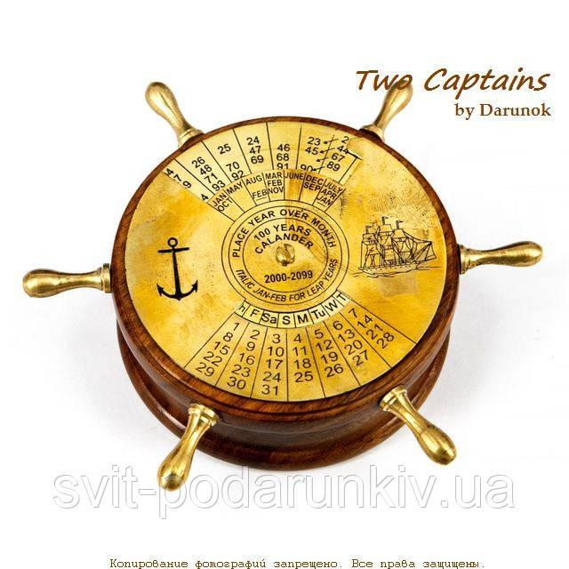 Оригинальный настольный календарь для интерьера в морском стиле Newport Sydney NIS448
