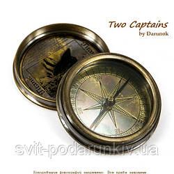 Старинный компас с гравировкой Titanic 7224S