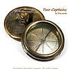 Старинный компас с гравировкой Titanic 7224S, фото 2