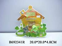 """Водоплавающие заводные игрушки """"Животные"""" 526-A25/692341R 2 штуки, игрушки для купания малыша"""